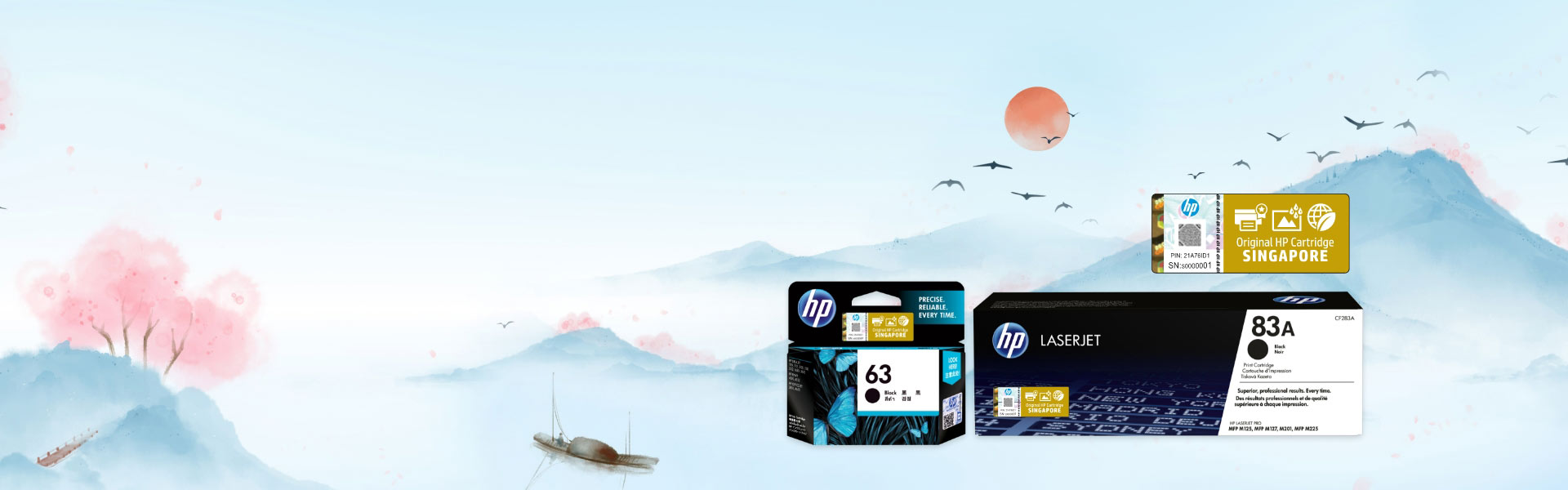 BUY HP ORIGINAL INK & TONERS
