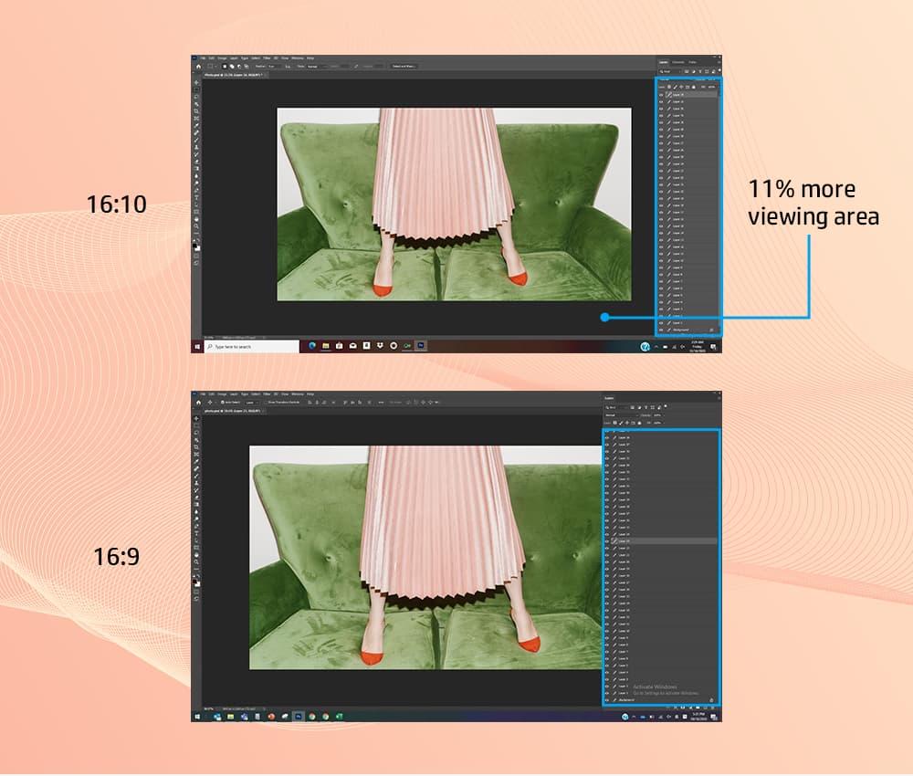 1040p resolution (FHD)