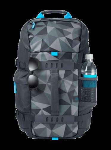 HP 15.6 Odyssey Backpack, Blue Facet